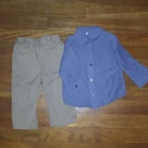 Infant Boys Outfit- 6-9 months